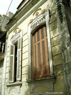 Mooca - Janelões de casa do início do século XX