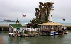 Forbes Island Restaurant in San Francisco.  Amazing restaurant, fabulous food and so unique.