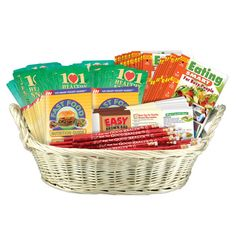 Good Health Value Basket Fast Food Nutrition, Nutrition Guide, Easy Weight Loss, Healthy Weight Loss, Pocket Pal, Eat Smart, Brown Bags, Way Of Life, Thank You Gifts