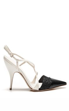 Kid And Salmon Sandal by Narciso Rodriguez - Spring 2014