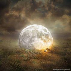 Fallen Moon by evenliu on DeviantArt
