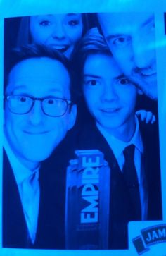 Twitter / BrownAds: Photo booth #JamesonEmpireAwards ... Richard Armitage