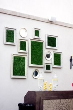 I've always wanted to do something like this. Interior Decorating, Decorating Ideas, Decor Ideas, Moss Decor, Moss Art, Terrariums, Something To Do, Woodland, Picture Frames