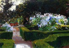 Garden at Grenada John Singer Sargent - 1912