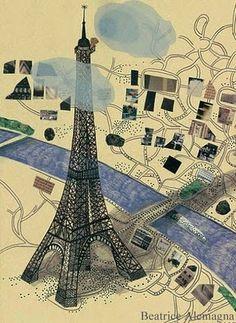 Beatrice Alemagna  Paris
