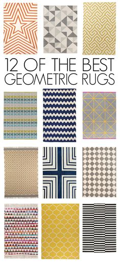 12 of the Best (Affordable!) Geometric Rugs