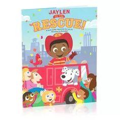 Rescue Personalized Book,