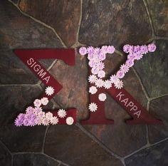 Sigma Kappa letters!