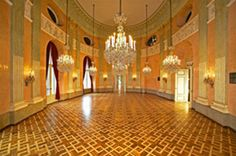 Palais Auersperg, Vienna - We saw a Mozart/ Strauss concert here and it was AMAZING. The violinist had a Stradivarius. Honeymoon Pictures, Online Tickets, Vienna, Taj Mahal, Rococo, Baroque, Architecture, Palaces, Concerts