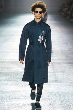 Paris Fashion Week (Menswear): Dries Van Noten - Spring 2014