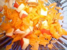 Carrot, Pecan & Apple Salad with Honey Yogurt Dressing from www.YourLifeTodayMagazine.com