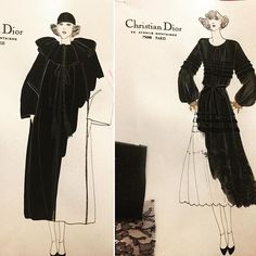 Black is the most slimming of all Colors. It is the most flattering. You can wear black at any Time. You can wear it at any age. You can wear it for almost any occasion. I could write a book about black. -Christian Dior- ❤️#paris #dior #mariagraziachiuri #hautecouture #couture #fashionillustration #inspiration #fashionweek #fashiondesign #fashiondesigner #littleblackdress #blackisbeautiful #blackfashion #outfits #outfitinspiration #fashionblogger #instafashion #instagramers #instagram…