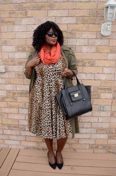 My Curves & Curls™   A Canadian Plus Size Fashion blog: Army Green