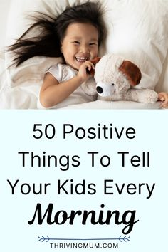 As a parent, you should be the first person to stimulate your kids with positive words. If you are thinking of how to praise your child with words or things to say to your child every day. Below are 50 positive things you should say to your child that you can draw inspiration from Mindful Parenting, Kids And Parenting, Parenting Hacks, 4 Year Old Tantrums, Affirmations For Kids, Kids Mental Health, Parent Communication, Christian Kids, Mentally Strong