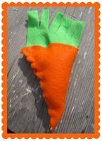 Beginning Sewing With Kids: Felt Carrot - Things to Make and Do, Crafts and Activities for Kids - The Crafty Crow