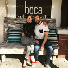 Special lunch with my one and only @bryanldanielson ❤️ @bocatampa #locallove #farmtotable #locavore