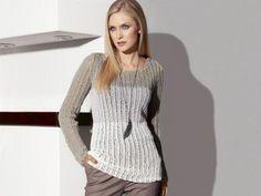 Mit Diesem Pullover Kann Der Herbst Kommen   Finden Sie Hier Die  Strickanleitung Für Einen Modischen