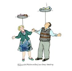 TEATIME with Malcolm and Beryl was always by Bagardcardsandcrafts