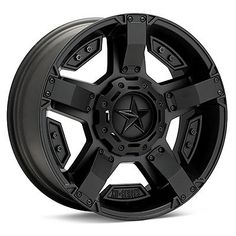 18 inch 18x9 Jeep Wrangler JK BLACK XD811 RS2 Wheels Rims w/ Tires 0mm Offset #Jeep