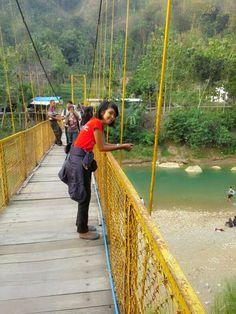 I'm on bridge