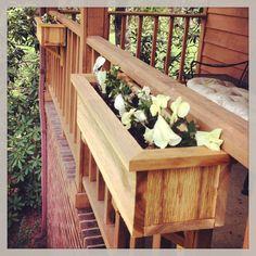 Handmade 3/4 Western Cedar Flower Box by WoodworkbyArchie on Etsy