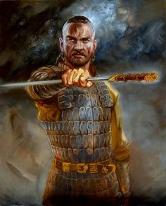 Attila the Hun, the Scourge Bulgarian Recipes, Bulgarian Food, Attila The Hun, History Tattoos, Mythology Tattoos, Fantasy Warrior, Fantasy Inspiration, Body Art Tattoos, Statue