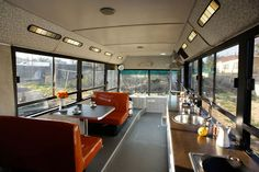 Converted Transportation Bus - A decommissioned transportation bus converted into a home in Even Yehuda, Israel.