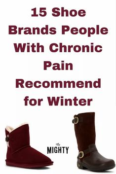 15 Shoe Brands People With Chronic Pain Recommend for Winter #chronicpain Chronic Fatigue Syndrome Diet, Chronic Fatigue Symptoms, Chronic Illness, Mental Illness, Fibromyalgia Pain, Chronic Pain, Fibromyalgia Disability, Fibromyalgia Syndrome, Complex Regional Pain Syndrome