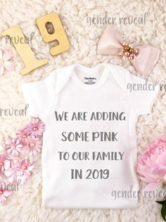 Cute gender reveal idea, love it!