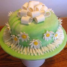 Wilton cake class #3, final cake.
