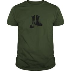 MILITARY COMBAT BOOTS Show Your Pride! Armed Forces Gear, Patriotic Shirts, Pride, Gifts, Military, Army, Airforce, Navy, Marines, Coast Guard, Tees, United States Veterans, U.S.A., United States of America, T-Shirts, Wife, Girlfriend, Husband, Family, Mom, Dad, Son, Daughter, Quotes, Sayings