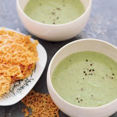 For an ingenious twist on the classic combination of broccoli and melted cheddar, Barbara Lynch serves a warming broccoli soup with cheddar crisps. Tr...