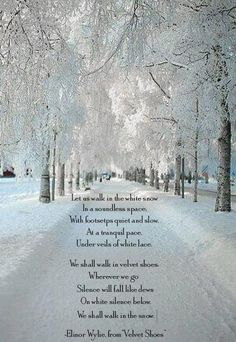 Superieur Winter By Elinor Wylie. Snow Quotes ...
