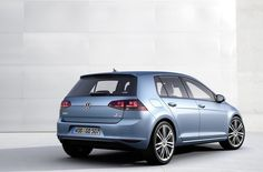 VW Golf Pacific Blue.
