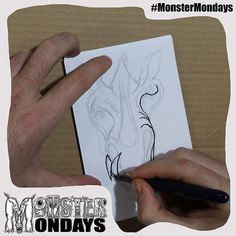 It continues... the creation of Monster Mondays No.3!! What do you think?? And the surprise??? Click the link and you might 'like' it!! <<http://ow.ly/UGz4a >> hehe #MonsterMondays #monster #drawing #penandink #art #instaart #instaartist #artist #mentalhealth #mentalhealthawareness #anger #illustration #wip #lion #graphic #anxiety #depression #smashthestigma #stigmafighter #suicideawareness #mentalhealthmatters #recoveryispossible #mentalhealthrecovery