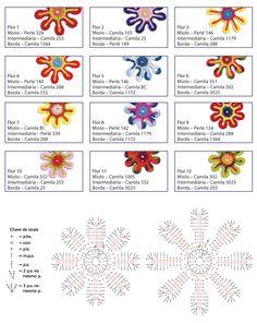 Fleurs au crochet - Le monde-creatif