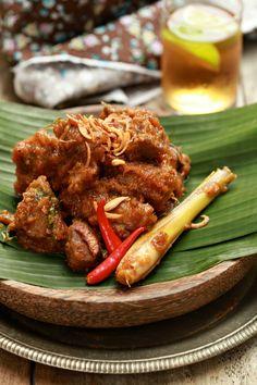 masam manis: Rendang Daging Minang yang mudah, ringkas dan sedap!
