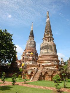 #Ayutthaya in #Thailand, zeker een must-see! #asia
