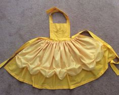 Disney Princess Inspired Ariel Dress Up Apron by JeannineChristian