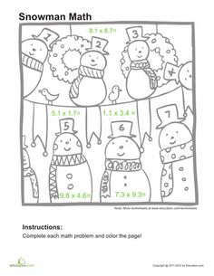 math worksheet : 1000 images about decimals on pinterest  decimal place values  : Adding And Subtracting Whole Numbers And Decimals Worksheets