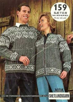 Sæter 159 Ålgård Vintage Knitting, Hand Knitting, Knitting Patterns, Norwegian Knitting, Shirt Dress, Crochet, Mens Tops, Shirts, Inspiration