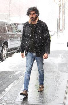 Dev Patel in NYC