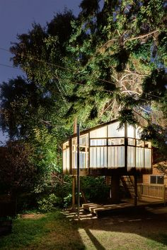 15: Pacific Environments, Yellow Tree House Restaurant, Warkworth (New Zealand) | 18 Of The World's Most Amazing Tree Houses | Co.Design: business + innovation + design