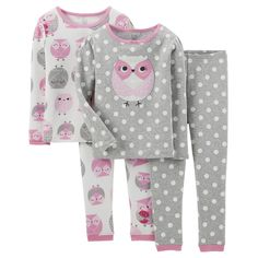 Just One You� Made by Carter's Infant Toddler Girls' Ballerina Sleep Set - Pink