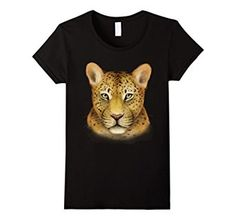 Amazon.com: Women's Leopard Shirt: Big Cat Art T-shirt - dark version Small #leopard #animals #wild #animal #love #cat #cats #zoo #rescue #graphic #art #tshirt #shirt #tee