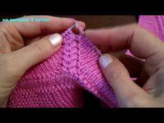How To Knit Raglan Jumper Video Tutorial - Post - Marecipe Crochet Stitches Patterns, Baby Knitting Patterns, Knitting Stitches, Knitting Needles, Diy Crafts Knitting, Easy Knitting, Knitting Videos, Crochet Videos, Wallet Pattern
