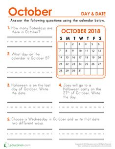 April showers bring May flowers! Children learn to identify and write days and dates in this calendar and activity worksheet. Part of our twelve-month 2019 Calendar Days and Dates series. Calendar Worksheets, Calendar Skills, Teaching Calendar, Calendar Activities, 1st Grade Math Worksheets, Math Workbook, Writing Worksheets, 2nd Grade Math, Worksheets For Kids