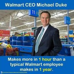 Obviously, he works 300 trillion times harder than his employees.  What a sad joke...Vote republicans OUT! and raise the minimum wage!!!!!!!!!