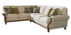 Island Estate West Shore Sectional Sofa LAF Corner by Tommy Bahama Home