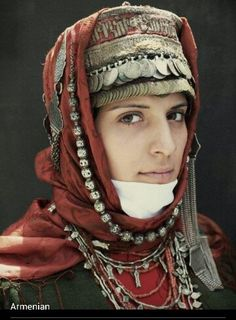 Armenian woman. (Armenia, Western Asia)